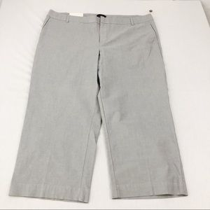 NWT Gap Curvy Fit Cropped Pants Size 20